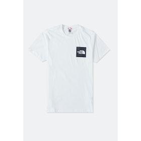 T-Shirt a Manica Corta North Face Capsule Fine - TNF White TNF Black