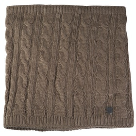 Horze Renate Cable Knit Scarf - Dusky Green