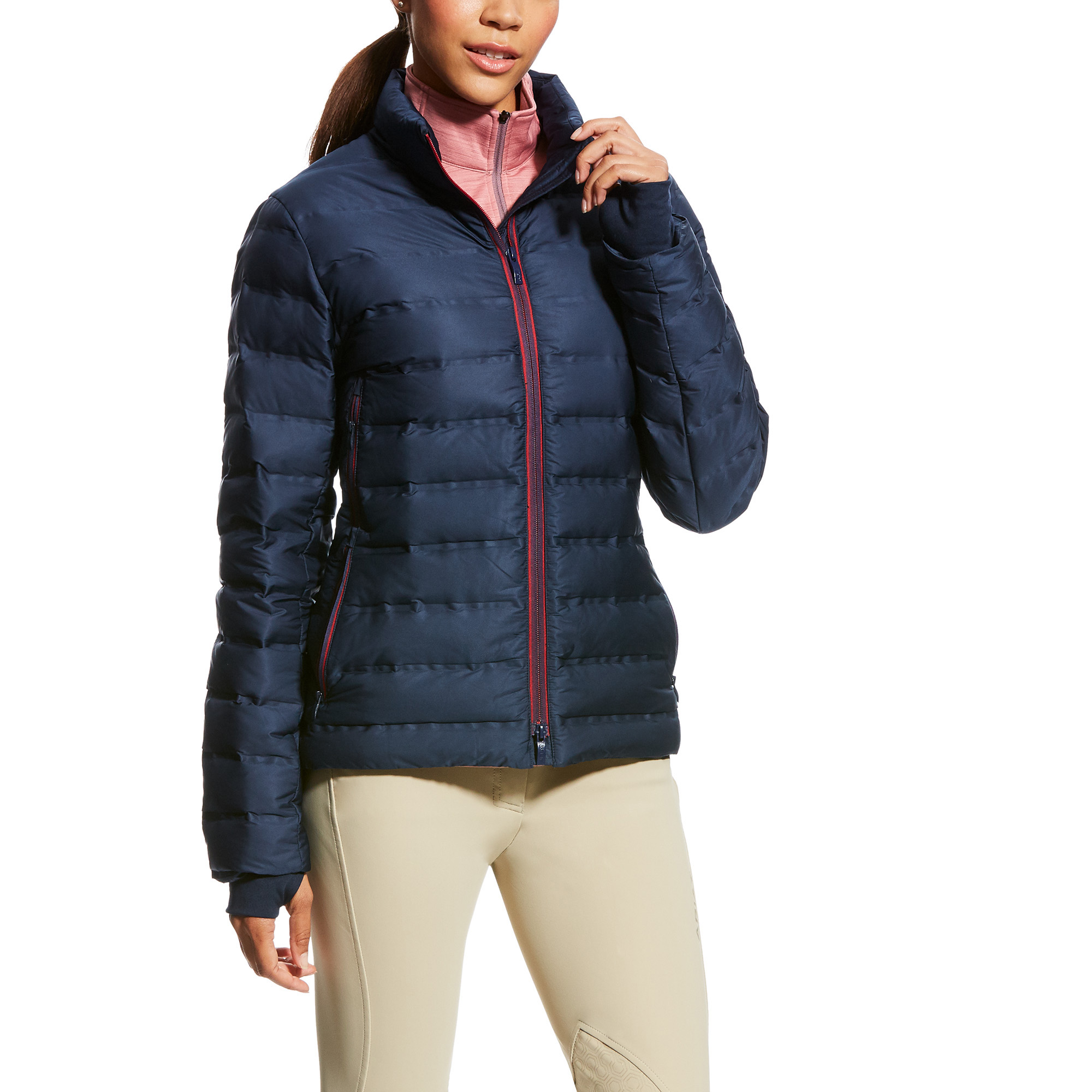 Navy Teal All Sizes Firefoot Aysgarth Womens Jacket Riding