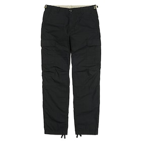 Carhartt Aviation , Cargo-byxor - Black Rinsed