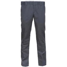Dickies WP872 Slim Fit Work Chino Pant - Charcoal Grey