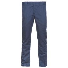 Dickies WP872 Slim Fit Work Chino Pant - Navy Blue