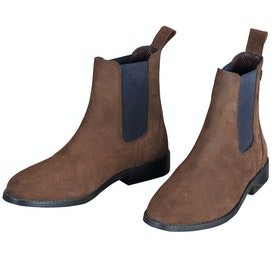 Shires Antonia Suede Chelsea Ladies Boots - Brown