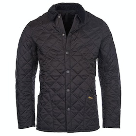 Barbour Heritage Liddesdale Quilt Mens Jacket - Black