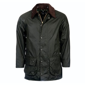 Barbour Beaufort Mens Wax Jacket - Sage