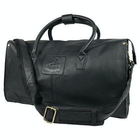 Grays The Copeland Fine Leather Duffle Bag - Black
