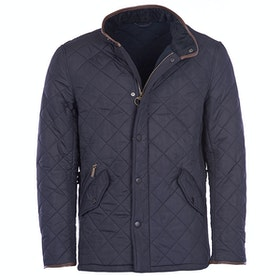 Barbour Powell Quilt Mens Jacket - Navy