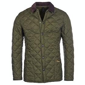 Barbour Heritage Liddesdale Quilt Mens Jacket - Olive
