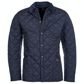 Barbour Heritage Liddesdale Quilt Mens Jacket - Navy