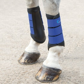Shires ARMA Neoprene Brushing Boot - Royal Blue
