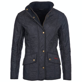 Barbour Cavalry Polar Quilt Ladies Jacket - Navy