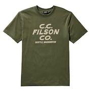 Camiseta de manga corta Filson Outfitter Graphic