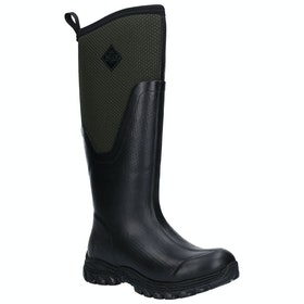 Muck Boots Arctic Sport II Tall Ladies Wellies - Black Moss