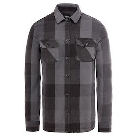 Camisa Vans Hixon IV - Black Charcoal