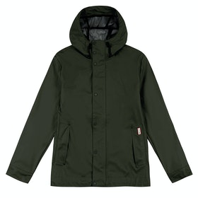 Hunter Original Rubberised Bomber Jacket - Dark Olive