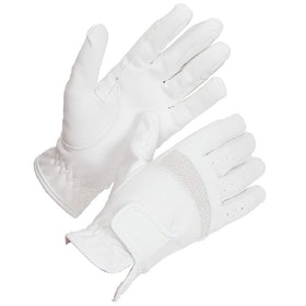 Shires Bicton Lightweight Competition Gloves - White