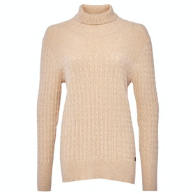 Dubarry Boylan Ladies Sweater - Oyster