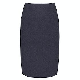 Dubarry Fern Tweed Rok - Navy