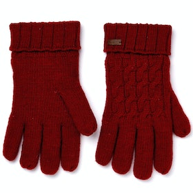 Dubarry Arklow Ladies Gloves - Cardinal
