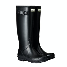 Hunter Norris Field Damen Gummistiefel - Black