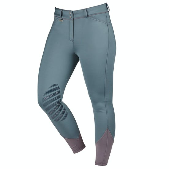 Dublin Thermal Gel Knee Patch Ladies Riding Breeches