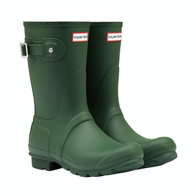Hunter Original Short Ladies Wellington Boots - Hunter Green