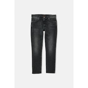 Nudie Lean Dean Dry Jeans - Mono Grey