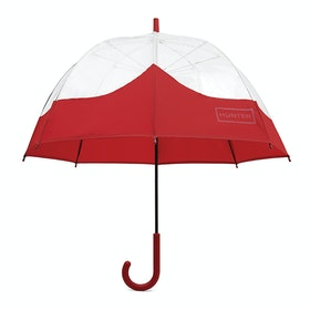 Parapluie Hunter Original Moustache Bubble - Military Red