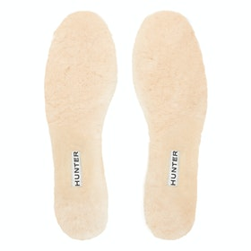 Hunter Luxury Shearling , Innleggssåler - Natural