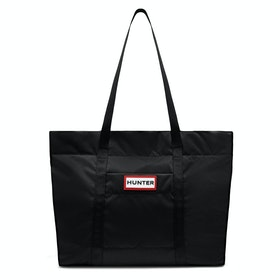 Hunter Original Nylon Tote Dames Shopper Tas - Black