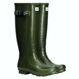 Hunter Norris Field Ladies Wellingtons - Vintage Green