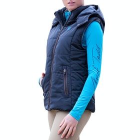 Mark Todd Winter Padded Damen Thermoweste - Navy