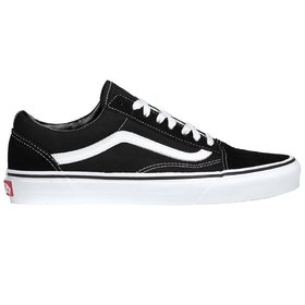 Chaussures Vans Old Skool - Black White