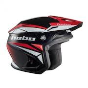 Hebo Zone 5 Svan Polycarb W Visor Trials Helmet