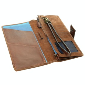 Dubarry Milltown Travel Wallet - Walnut