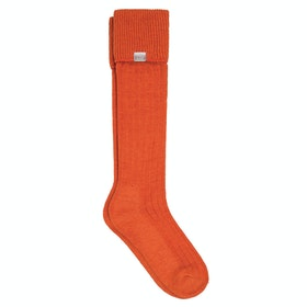 Dubarry Alpaca Wellington Socks - Terracotta