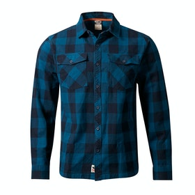 Rab Boundary Shirt - Indigo Denim Ink