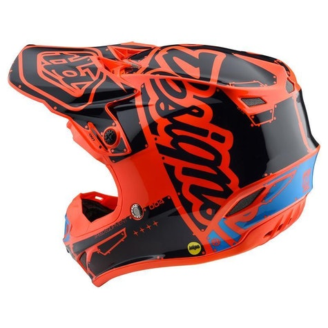 Troy Lee SE4 Polyacrylite MIPS Factory Motocross Helmet
