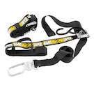 Tie Downs Pro Taper with Spring Loaded Swivel Carabiner Hook and Extra loop