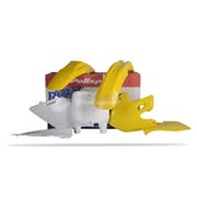 Polisport Plastics Full Set Suzuki RM125 250 99 Plastic Kit