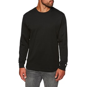 Carhartt Base T-Shirt Lange Mouwen - Black White
