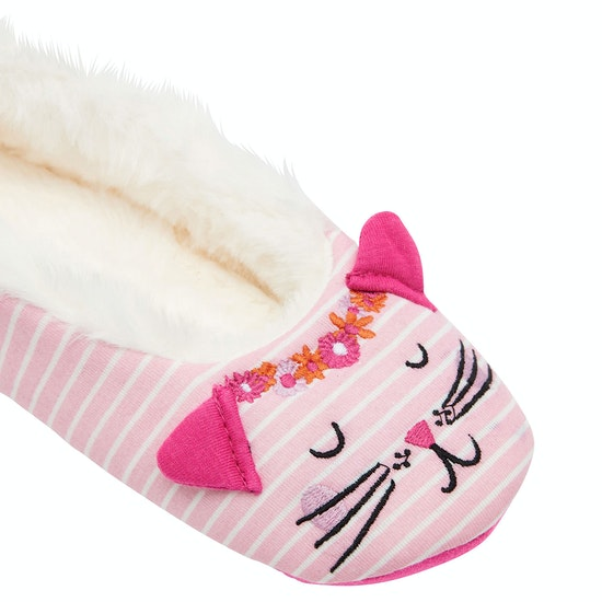 Joules Dreama Character Girls Slippers