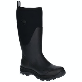 Muck Boots Arctic Outpost Tall Wellies - Black Grey