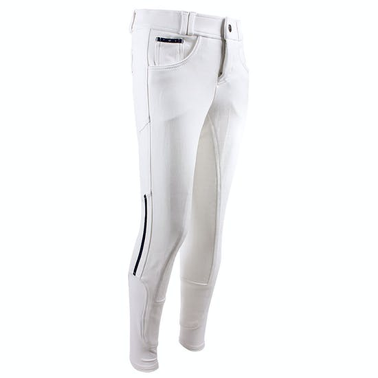 QHP Junior Coco Anti Slip Full Seat Riding Breeches
