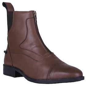QHP Milaan Ladies Jodhpur Boots - Chestnut
