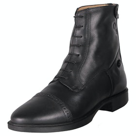 QHP Toulouse Ladies Jodhpur Boots - Black