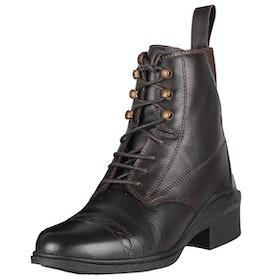 QHP Valencia Ladies Jodhpur Boots - Brown