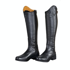 Shires Aida Leather Childrens Long Riding Boots - Black