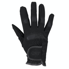 QHP Junior Multi Riding Gloves - Black
