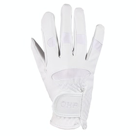 QHP Junior Multi Riding Gloves - White